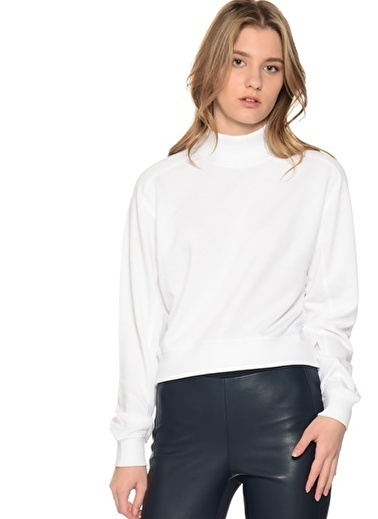 Missguided Sweatshirt Beyaz
